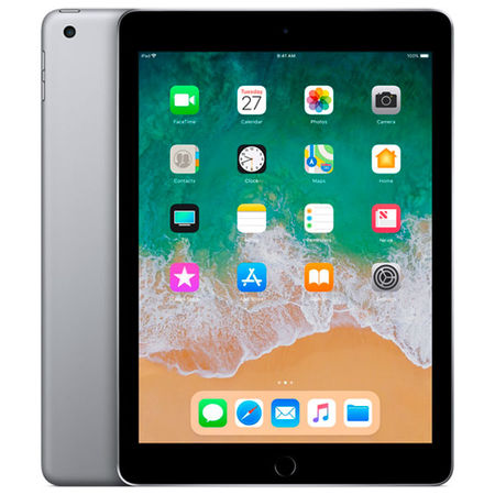 Планшет Apple iPad (2018) 32GB Wi-Fi Space Grey (MR7F2RU/A) в Евросеть